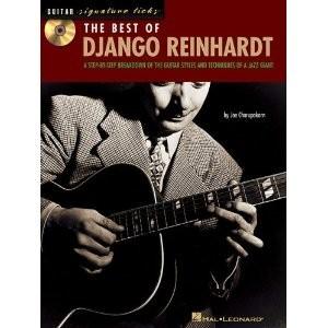 Hal Leonard Guitar Signature Licks The Best of Django Reinhardt